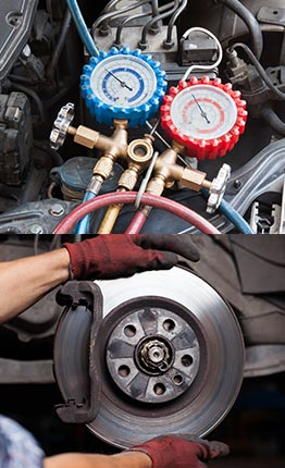 Automotive A/C and brake repair